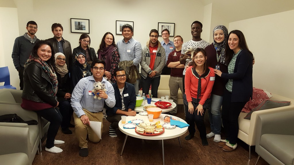 Participants in a Muslim-Catholic Student Dialogue meeting. Photo credit: Vivian Kwok.
