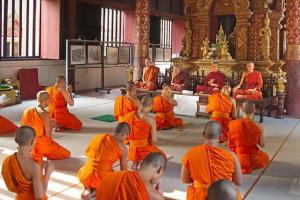 Buddhist Temple in Chiang Mai, Thailand. Photo credit: Wikimedia