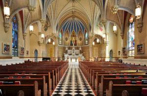 Catholic Church in Roanoke, USA. Photo credit- Wikimedia