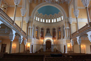 Synagogue in St. Petersburg, Russia. Photo credit: Wikimedia