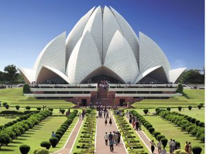 Baha'i House of Worship – New Delhi, India credit: Baha'i World Center
