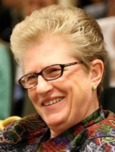 Dr. Mary Boys is a native of Seattle and has been, since 1965, a Sister of the Holy Names of Jesus and Mary (a religious congregation of Roman Catholic women).