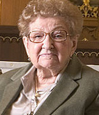 An educator throughout her long religious life, Sister Rose earned a Bachelor's degree from Dominican College in Racine, before going on to graduate studies—a Masters degree from the College of St. Thomas in St. Paul, MN, and a Ph.D. from St. Louis University in 1961.