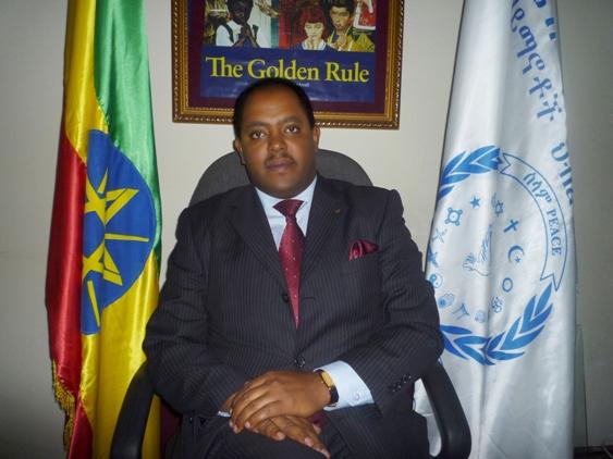 Ambassador Mussie Hailu - Ethiopian Golden Rule activist
