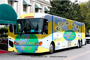 Would you like to ride on the Golden Rule Bus?