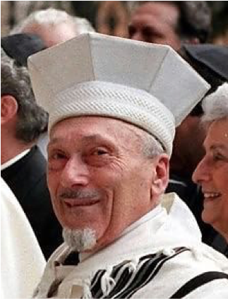 For a momentous half-century, he served as Rome's Chief Rabbi, guiding the Jewish community of the Eternal City through tremendous joys and significant chal­lenges and changes—and, through it all, becoming one of the most beloved and respected leaders of Euro­pean Judaism.