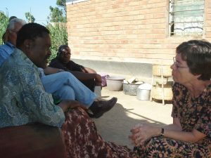 As Scarboro missioners in Mzuzu, Malawi, Beverley (above) and Ray Vantomme were frequent visitors to the home of their friend, Andrew Mkandawire, who was disabled as a result of a stroke.