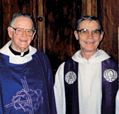 Fr. Jim McGuire in Durban, South Africa. Archbishop Hurley, along with Archbishop Tutu, had been influential in bringing down the apartheid regime.