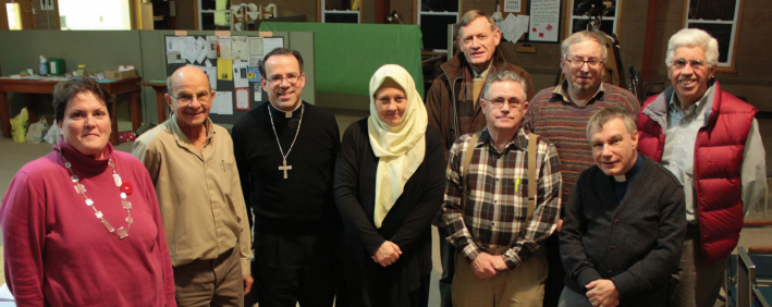 Members of Cornwall Interfaith Partnership (CIP) in Cornwall, Ontario, Canada
