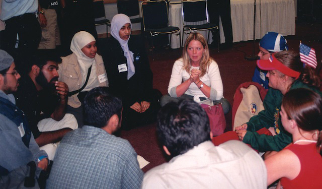 Interfaith workshop at World Youth Day in Toronto, Canada (2002)