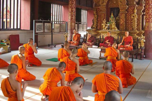 Buddhist Temple in Chiang Mai, Thailand. Photo credit: Wikimedia
