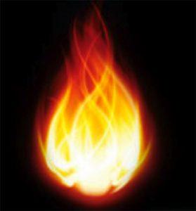 Holy-Spirit fire